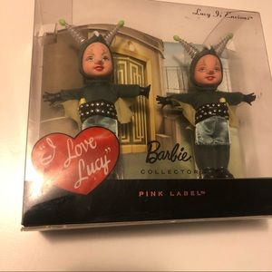 I Love Lucy 2009 Barbie Kelly Set